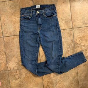 """Hudson Jeans Jeans - Hudson """"Barbara"""" high-waist skinny jeans"""